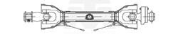 Imagem de CARDAN TUBO TRI.C/FUSIVEL      80 cm